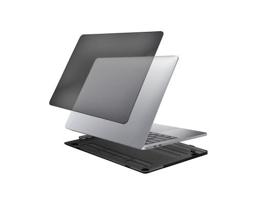 Чехол для MacBook Pro 13 (2020) прозрачный, темный