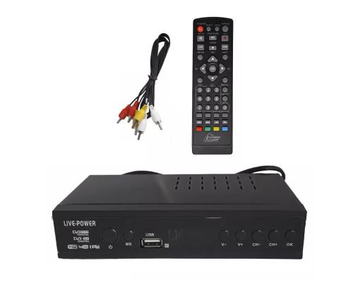 Цифровой TV-тюнер Live Power LV-8800 DVB-T2