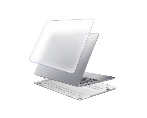 """Пластиковый чехол-накладка для Apple MacBook Pro 13"""" 2016 - 2017, матовый, прозрачный"""