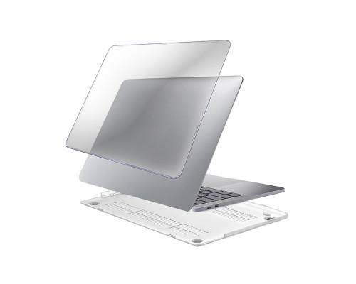 """Пластиковый чехол-накладка для Apple MacBook Pro 16"""" прозрачный"""