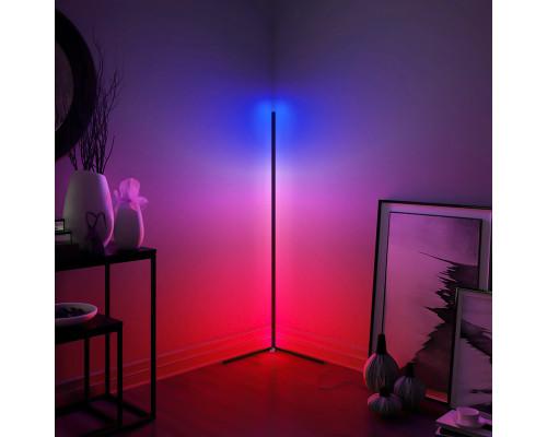 Угловой напольный светильник RGB торшер, 140 см
