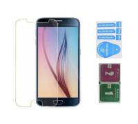 Защитное стекло для Samsung Galaxy S6 (вид — 2.5D, в комплекте салфетка и стикер)