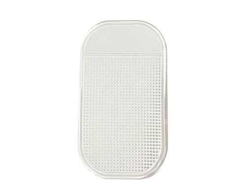 Автомобильный держатель коврик CS01 силиконовый, белый