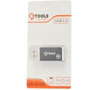 Кардридер USB 3.0 для карт памяти microSD SY-596