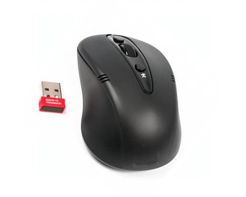 Мышь G9-370-1, беспроводная, черная