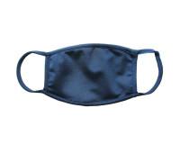 Тканевая синяя защищающая маска