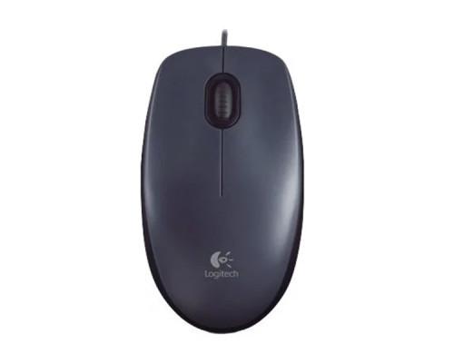 Мышь Logitech Mouse M90 Black USB