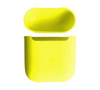 Чехол силиконовый для AirPods 2 Bright Yellow
