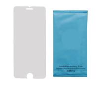 Защитное стекло для iPhone 7 (вид - 2.5D, ультратонкое, в комплекте салфетка и стикер)