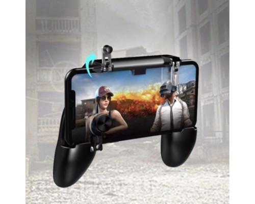 Мобильный геймпад с триггерами W11+ для игры в PUBG и другие игры Battle Royale