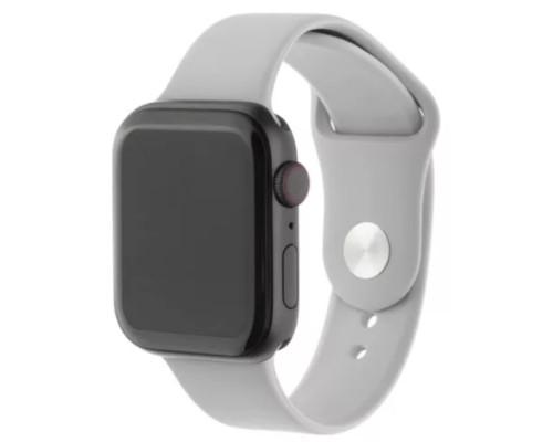 Ремешок для Apple Watch 38 - 40 мм силиконовый серый