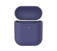 Чехол силиконовый для AirPods 2 Midhight Blue