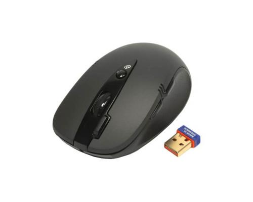 Мышь G10-660L, беспроводная, черная