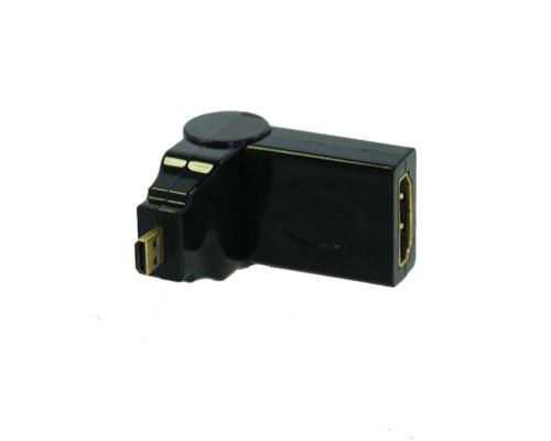 Переходник HDMI - microHDMI поворотный