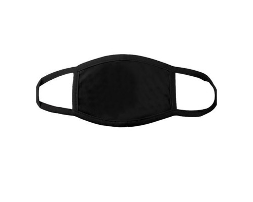 Тканевая черная защищающая маска