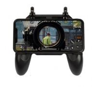 Мобильный геймпад с триггерами W10 для игры в PUBG и другие игры Battle Royale