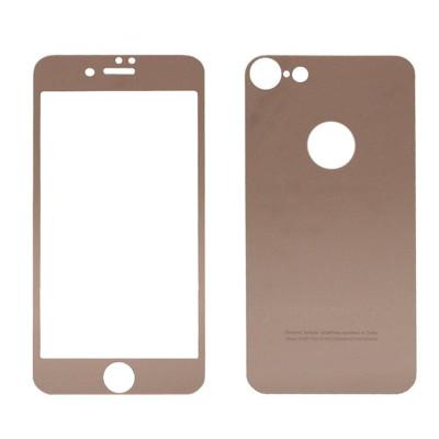 Защитное стекло для iPhone 7 комплект стекло на дисплей и заднюю панель