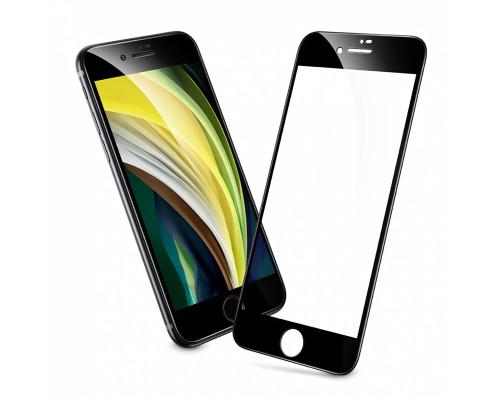 Защитное стекло Remax Medicine GL-27 для iPhone SE 2020 с полной проклейкой, черное