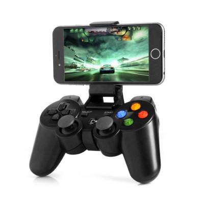 Геймпад Bluetooth N1-3017 игровой контроллер беспроводной с регулируемым клипом для Pad / Phone / TV / PC