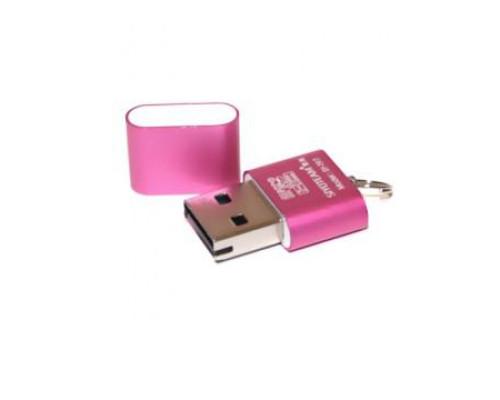 Кардридер USB для карт памяти microSD t-97