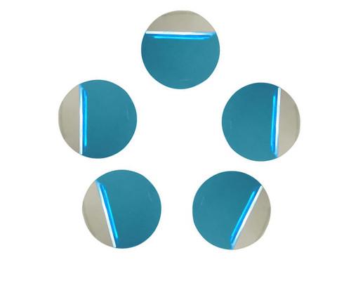 Пластина для магнитного держателя, 5 штук, круглая, диаметр 40 мм