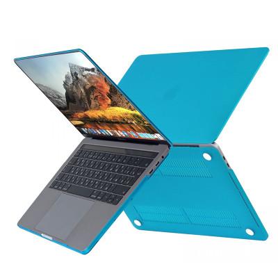 """Пластиковый чехолHardShell Case для Apple MacBook Air 13.3"""" (2018) голубой"""