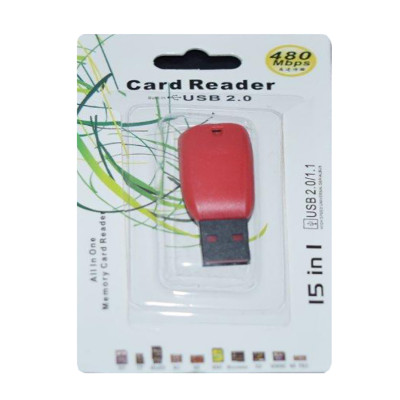 Кардридер usb для карт памяти microSD