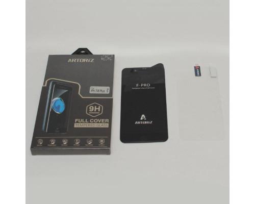 Защитное стекло 5D Artoriz для iPhone 7 Plus толщиной 0.33 мм в комплекте с защитной пленкой на заднюю панель телефона