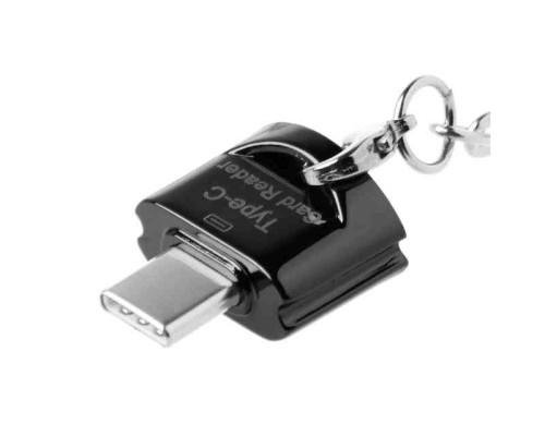 Кардридер Type-c для карт памяти microSD JY-923-b