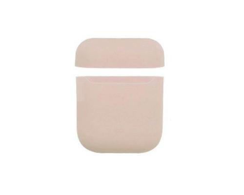 Чехол силиконовый для AirPods Pink Stand