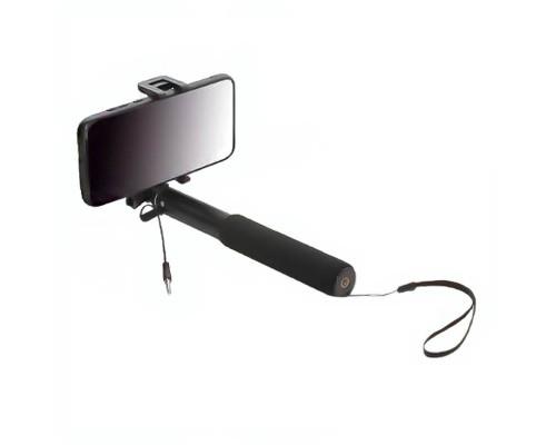 Монопод для селфи проводной с мягкой ручкой