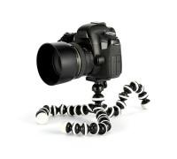 Гибкий штатив трипод Octopus Flex-26 для телефонов, фотокамер, кольцевых ламп, высота 26 см