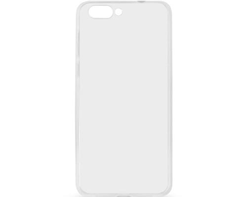 Чехол плотный для Asus Zenfone 4Max ZC554KL, прозрачный, силиконовый, 1.00мм
