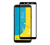 Защитное стекло для Samsung Galaxy J6 2018 5D полная проклейка черное