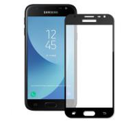Защитное стекло для Samsung Galaxy J3 2017 5D полная проклейка черное