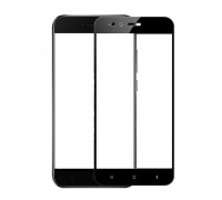 Защитное стекло для Xiaomi Mi 5X, вид стекла 5D полная проклейка, черное
