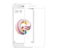 Защитное стекло для Xiaomi Mi A1 3D белое