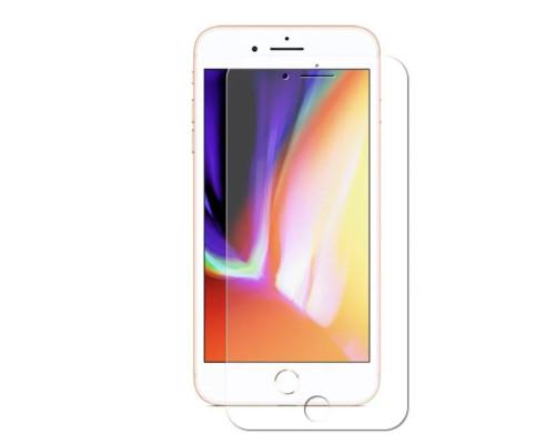 Защитное стекло для iPhone 7 3D с прозрачной рамкой