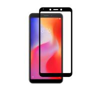 Защитное стекло для Xiaomi Redmi 6 3D черное