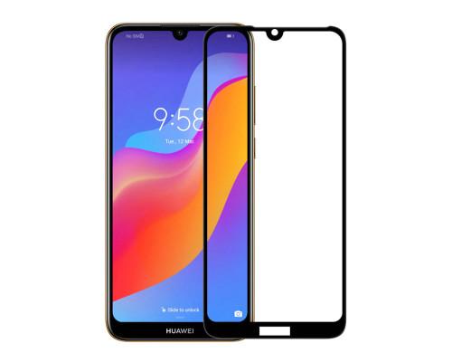 Защитное стекло для Huawei Y6 2019 5D черное