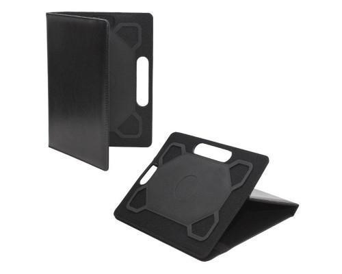 Универсальный чехол для планшета 10 дюймов искусственная кожа, черный