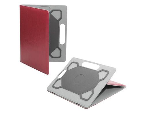 Универсальный чехол для планшета 10 дюймов искусственная кожа, красный
