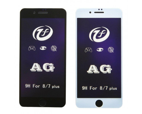 Защитное стекло для iPhone 7 Plus 5D матовое антибликовое