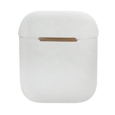 Силиконовый чехол для Airpods Silicon Case белый