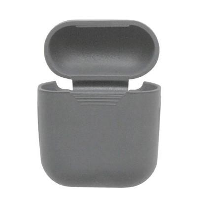 Силиконовый чехол Airpods Protective Case серый