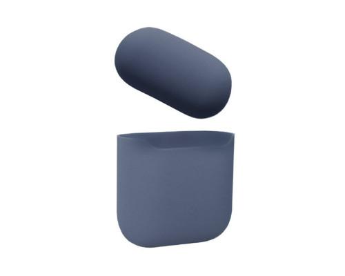 Чехол силиконовый для AirPods Midhight Blue