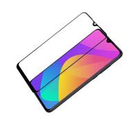 Защитное стекло для Xiaomi Mi A3 5D (полная проклейка) черное