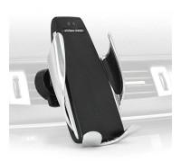 Универсальный держатель с беспроводной зарядкой и роботизированным захватом телефона Smart Sensor Car