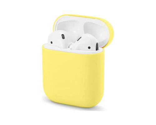 Чехол силиконовый для AirPods Bright Yellow