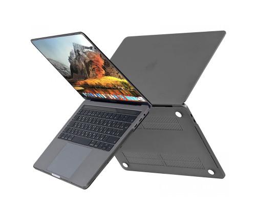 """Пластиковый чехолHardShell Case для Apple MacBook Air 13.3"""" (2018) Черный"""